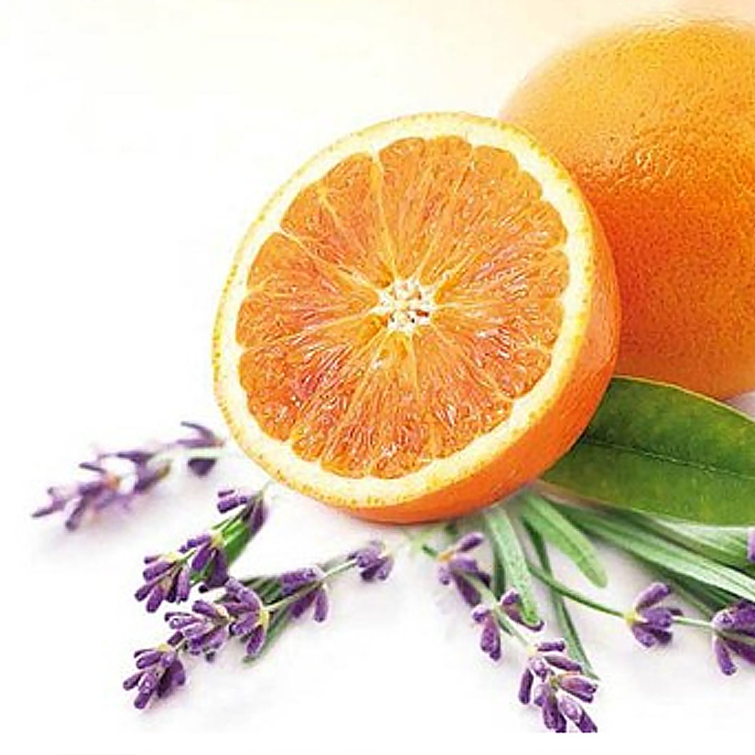 апельсиновый макаронс с лавандой