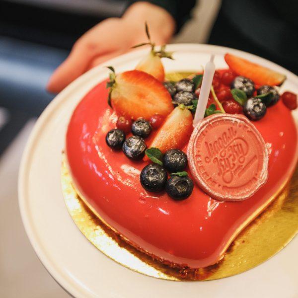 торт на заказ французский муссовый базелик